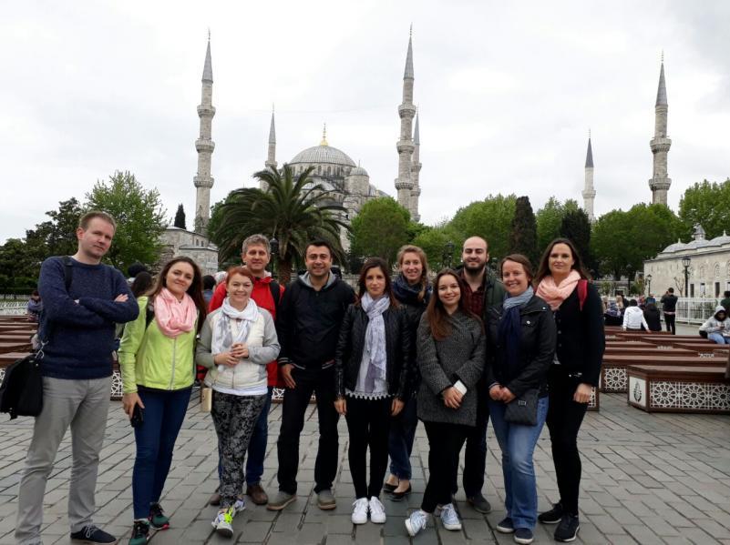 Bibliotekos darbuotojos vizitas Turkijos Išik universitete