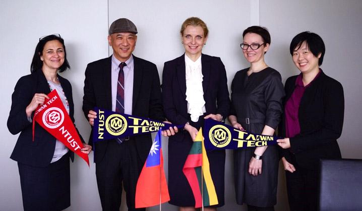 NTUST representatives visited VGTU