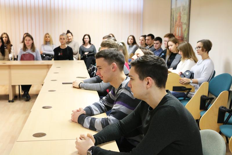 VGTU studentai dalyvavo išvažiuojamoje paskaitoje Lietuvos darbo biržoje