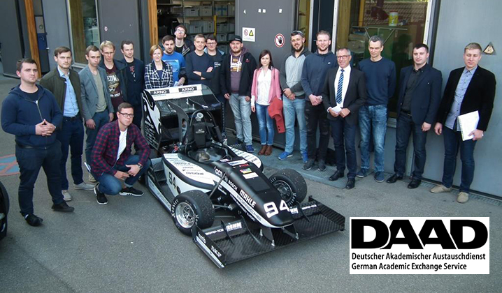 TIF studentai lankėsi Vokietijos universitetuose