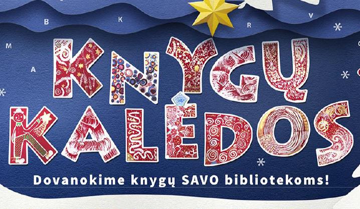 """VGTU biblioteka kvietė kartu pasitikti """"Knygų Kalėdas"""""""