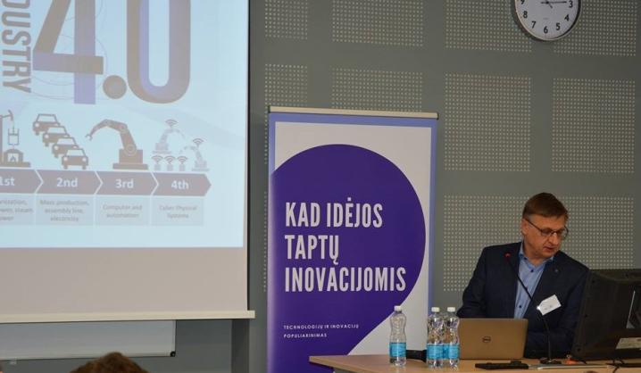MITA renginyje – VGTU atstovo pranešimas apie ketvirtąją pramonės revoliuciją