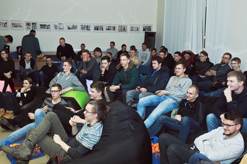 VGTU – didžiųjų elektros energetikos įmonių susitikimas su studentais