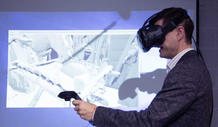 VGTU students recreated the founding of Vilnius in virtual reality