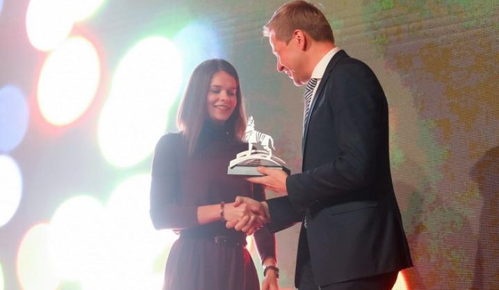 VGTU studentei – Vilniaus sporto apdovanojimų Metų proveržio titulas