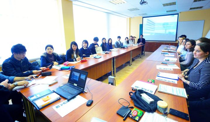 VGTU ir studentai iš Japonijos seminare apsikeitė aplinkos apsaugos idėjomis
