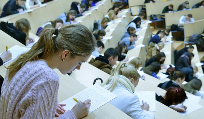 Diktantas parodė – VGTU studijuoja išties raštingi studentai