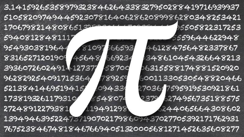 Susipažinkite su PI skaičiaus aibėje mokslui ir bibliotekai reikšmingais skaičiais