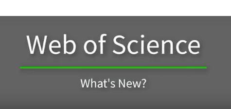 Web of Science pristato naujoves