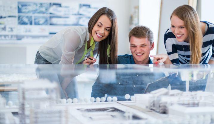 Jaunieji architektai konferencijoje pristatė mokslo darbų rezultatus
